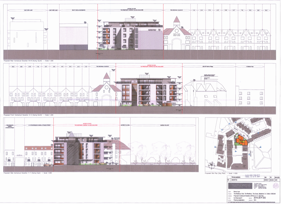 00659316 Westbury Club The Green Malahide - planning application document - Elevations
