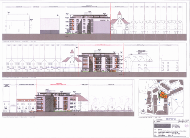 00659316 Westbury Club The Green Malahide - planning application document - Elevations
