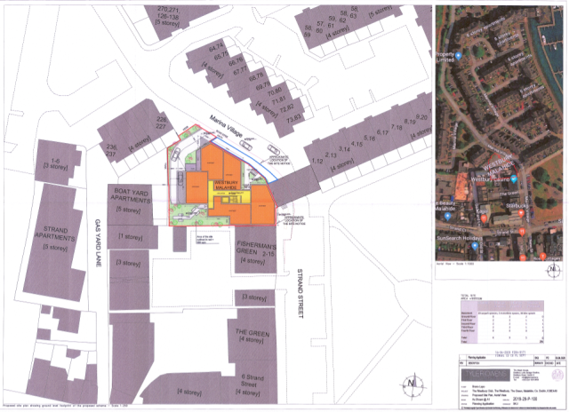 00659378 Westbury Club The Green Malahide - planning application document - Site Layout Image